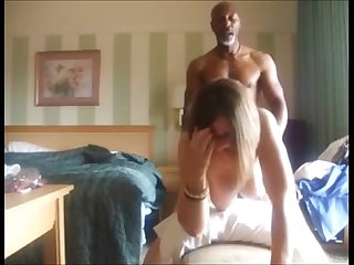 Busty milf fucked in doggystyle position