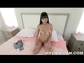 Aryana Amatista An Energetic Asian Pussy