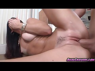 Sexy India Summer fucking a big dick