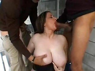 Big natural boobs kitty lee interracial threesome