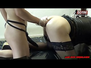 Anal Fisting mit deutscher domina - bdsm lady mindfuck asshole stretch femdom