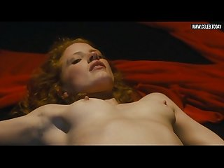 Jessica chastain explicit topless striptease perky boobs salome 2013
