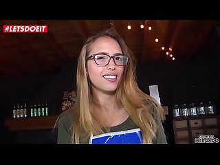 LETSDOEIT - Petite Colombian Teen Lucia Vergara Gets A Huge Facial