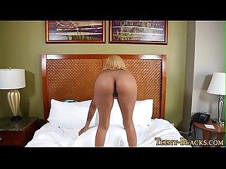 Black Babe gets creampie