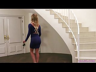 MILF finds out her babysitter is a lesbian - Cherie DeVille and Serena Blair