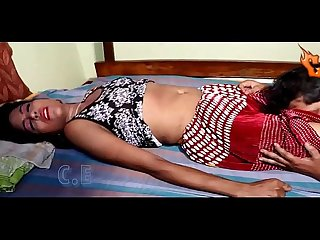 Girl panty removal at bedroom scene hot video