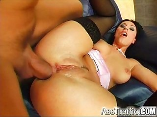 Ass Traffic Mercedes gets butt-pounded and swallows a cumshot