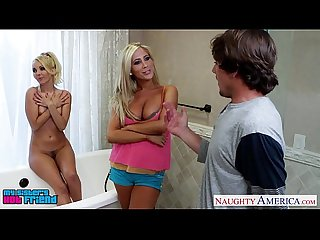 Blonde sirens aaliyah love and tasha reigh share cock