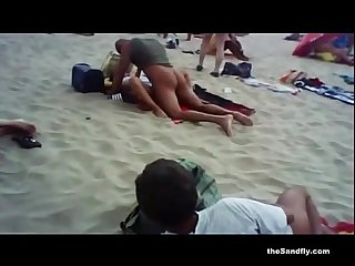 Thesandfly horny beach holidaymakers