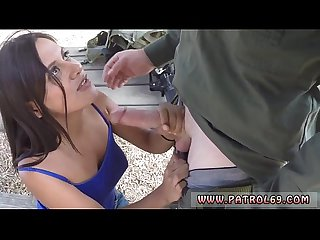Real amateur blowjob xxx Border Patrol agents found this Latina doll