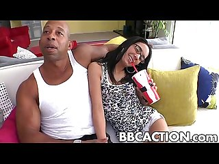Tia Cyrus fucked by mean black dick