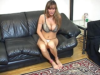Big titted instructor s proper jerk off demonstration