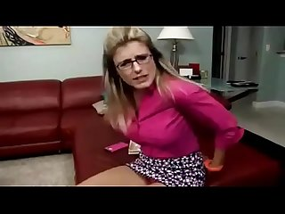 Cory chase young boy retaliate his beautiful milf