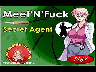 Q meet and fuck secret agent