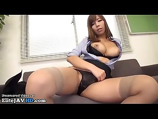 Jav secretary humiliates and fucks co worker more at elitejavhd com