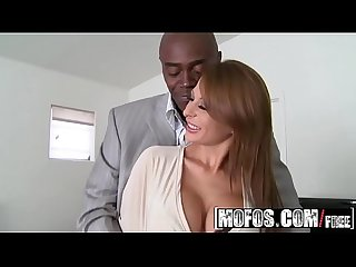 (Alison Star) gets pounded by some big black cock - MOFOS