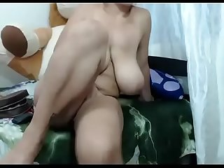 Hot milf with papaya tits live cam show