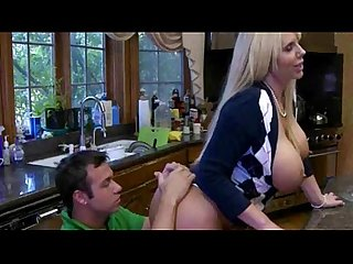 Pretty blonde teen Molly caught her boyfriend with a MILF