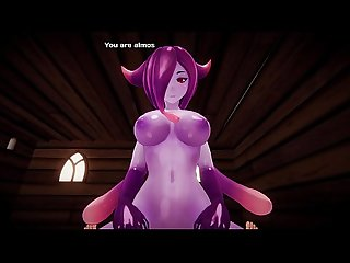 Monster girl island demo eris the demon slime scene remake