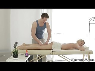 Massage-X - Oiled-up tease and lovemaking Jessi Gold