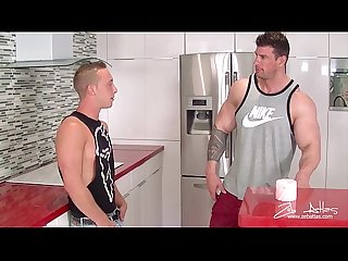 Billie Ramos Fucks Zeb Atlas Hard Rock Cock for Secret Tips on How to Get Big