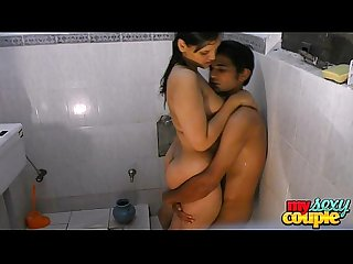 Indian amateur couple sonia and sunny hardcore sex in shower