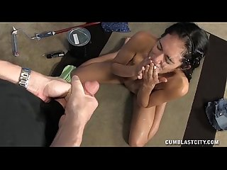 Naked Teen Cum Splattered