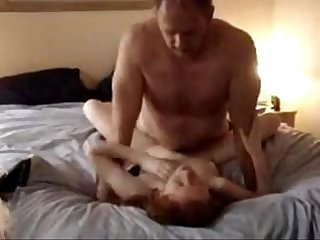 Daughter gets pounded so hard