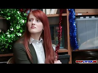 Redhead chick krystal orchid pays for her freedom