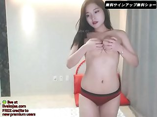Korean lesbians threesome - Live at livekojas.com