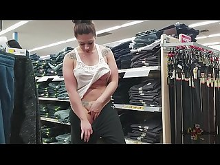 Walmart Public Nudity MILF Part 2