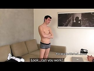 Milf agent fucked in doggy style in office