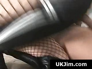 Pussy licked blonde whore gives old man a blowjob