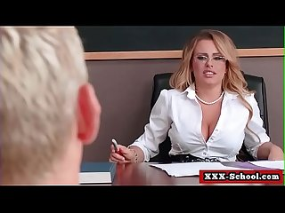 Busty teacher and schoolgirl fucked at school 11