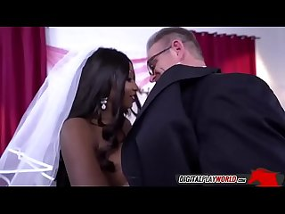 Black wife diamond jackson sucking husband tony d on wedding day