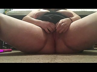 Pussy cum and squirt show