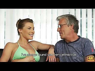 Daddy4k period passionate Sex near the pool with the Boyfriend s dad