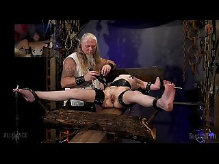Bound orgasms torture rack urge incontinence