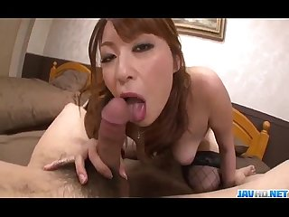 Araki hitomi sensual woman plays dirty on a big cock
