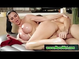 Jasmine Jae and Ryan Ryder try nuru massage