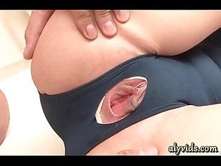 Teen Asian Girl gets her wet cunt licked