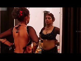 Indian desi milf in black saree big boobs bhabhi indian web series feneo movies ullu