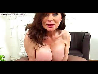 Beautiful mature with huge tits gets fucked