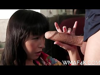 CHEATING ASIAN WIFE LIKES WHITE COCK
