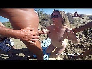 Dogging a la plage avec 30 mecs la version sexe dans ma section membre