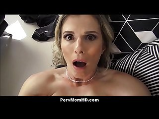 Horny MILF Stepmom Seduces Horny Stepson