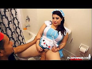 Lola lush returns for hot halloween dress up and fuck