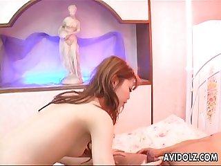 Hot ass slut ryo odagiri double cock sucking