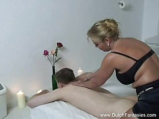 Chubby dutch Massage rough fuck