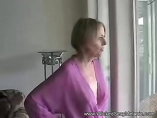 POV Fun At Home With Amateur Granny